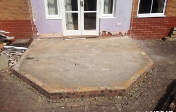 1 Storey Rear Extension / Build above garage