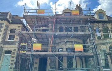 Converting 8 Bed House Into 4 Flats